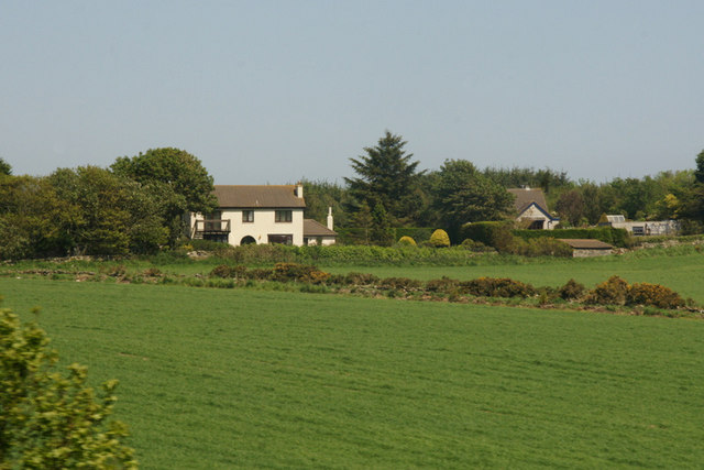 House and fields north of Newtonhill