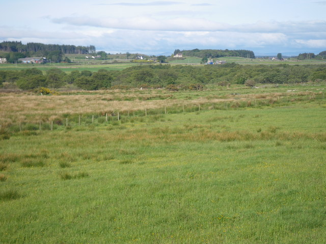 Fields east of Hare Moss