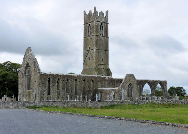Ruins of Claregalway Franciscan Friary