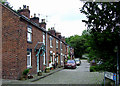 SJ9852 : Basford Bridge Terrace at Cheddleton, Staffordshire by Roger  Kidd