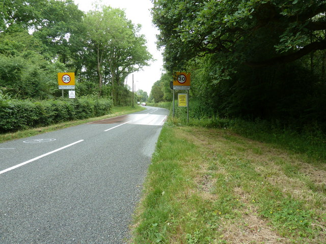 Speed restrictions on entering Balcombe