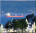 NS2072 : Tanker passing Inverkip by Thomas Nugent