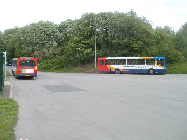 Two Stagecoach buses, Upper Race, Pontypool