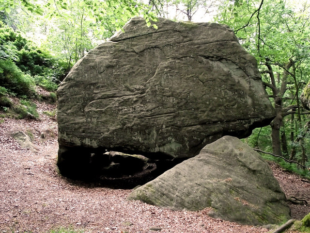 Another view of Gawton's  Rock