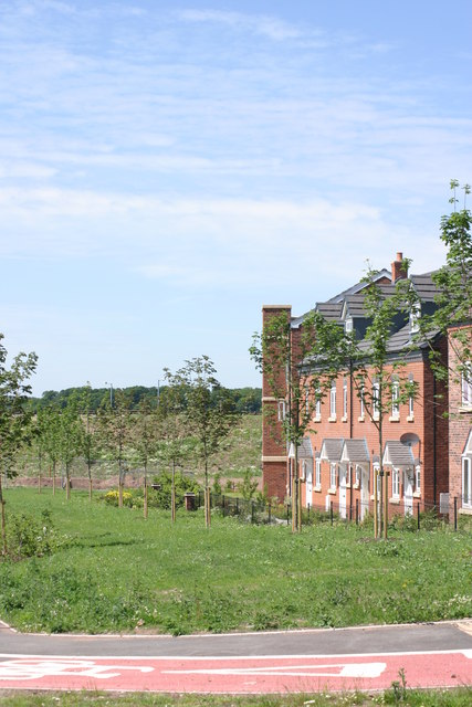 Houses located along, Lichfield Southern Bypass  (1)