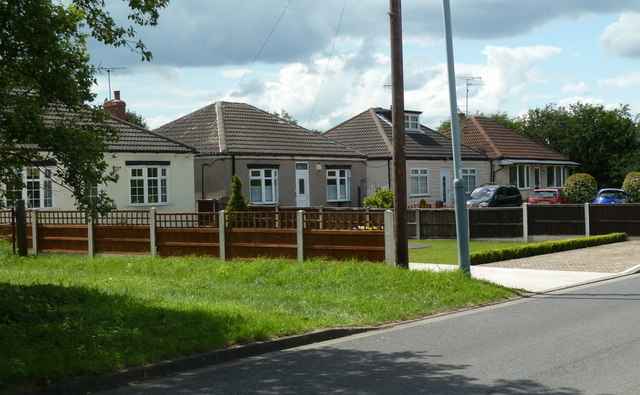 Bungalows on Silverhill Lane