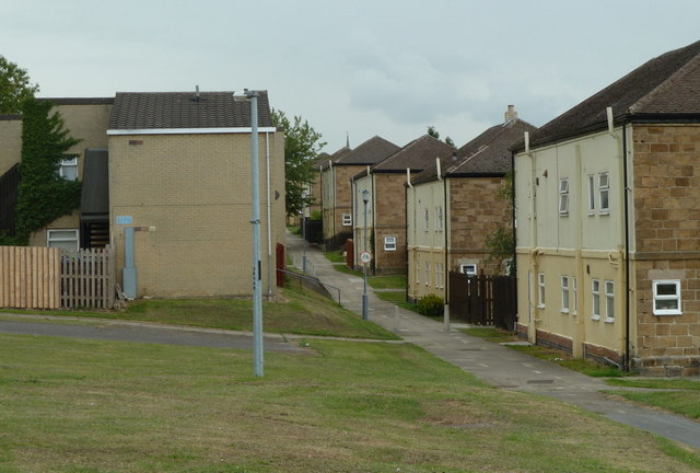 Houses in Barrow Hill