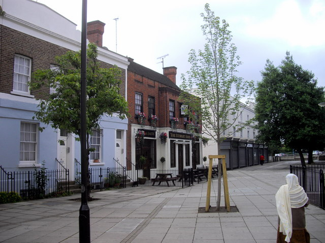 The Stewart Arms public house, Norland Road, London