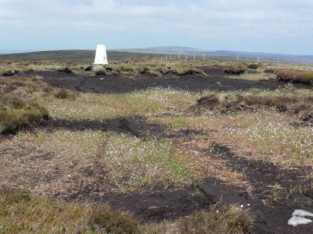 Triangulation pillar on Hoof Stones Height