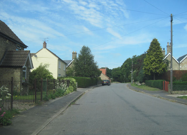 Main street from A1084 in Bigby