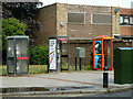 TQ4081 : Three phone boxes, Freemasons Road by Robin Webster