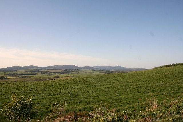 Fields to Bennachie