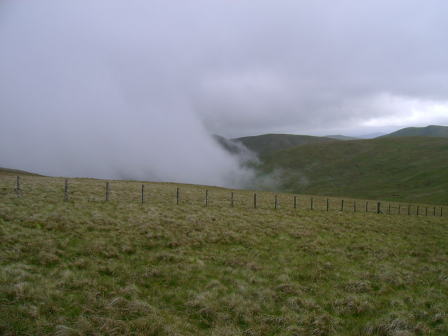 Western slopes of Meikledodd Hill