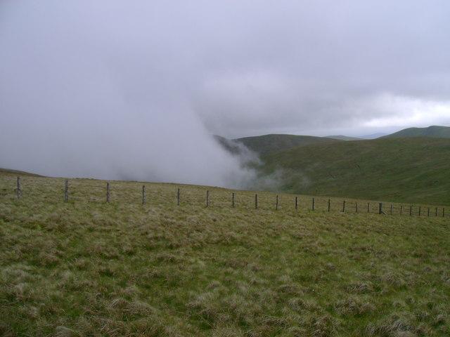 Western slopes of Meikledodd Hill