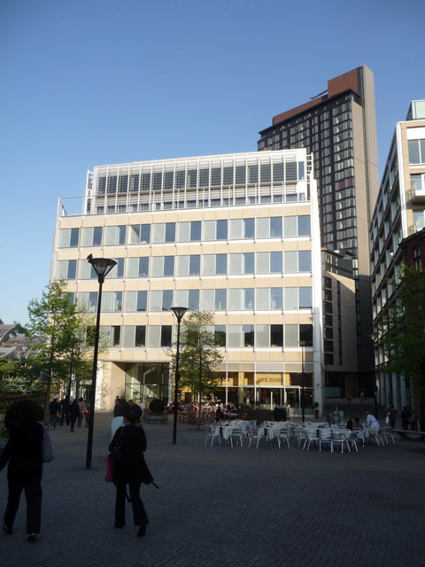 Sheffield: one of many new office blocks