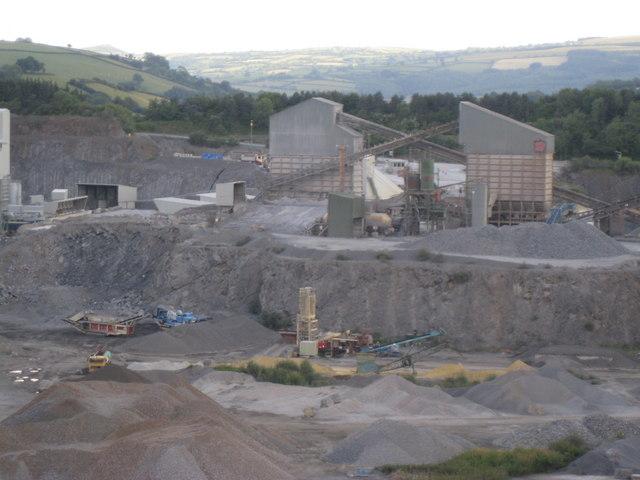 Linhay Hill Limestone Quarry - Ashburton