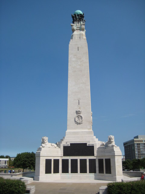 Naval War Memorial, Plymouth Hoe