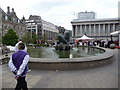 SP0686 : The Floozy in the Jacuzzi, Victoria Square, Birmingham by Jeremy Bolwell