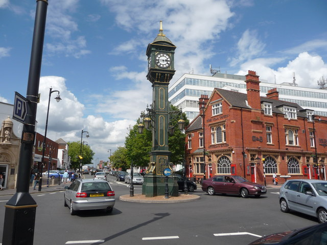 The Jewellery Quarter clock, Birmingham