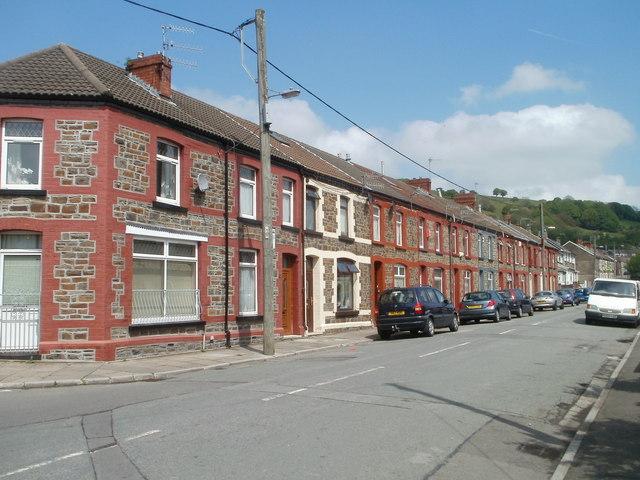 Primrose Terrace, Llwyncelyn, Porth