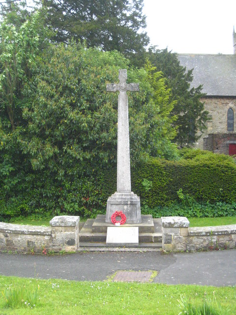 War Memorial, Greenhead