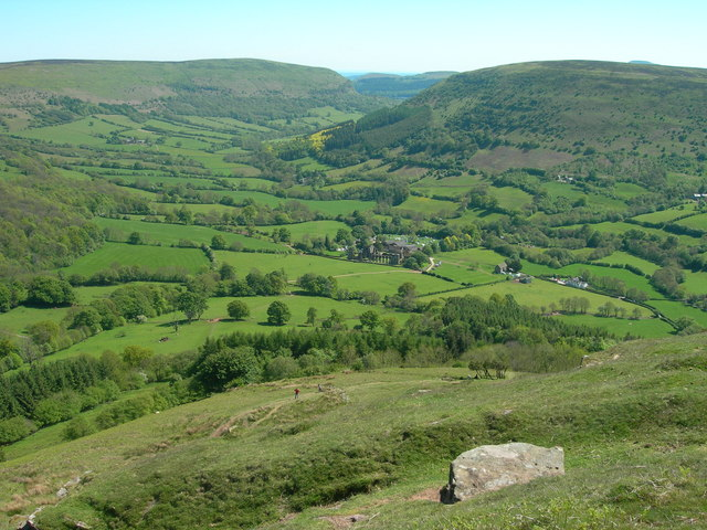 Path above Llanthony