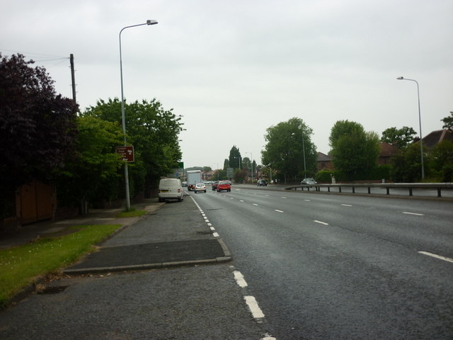 The A34, Kingsway