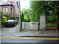 SJ8483 : A pedestrian entrance to Styal Station by Ian S