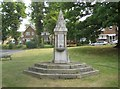 TQ1289 : Pinner: The Tooke drinking fountain by Nigel Cox