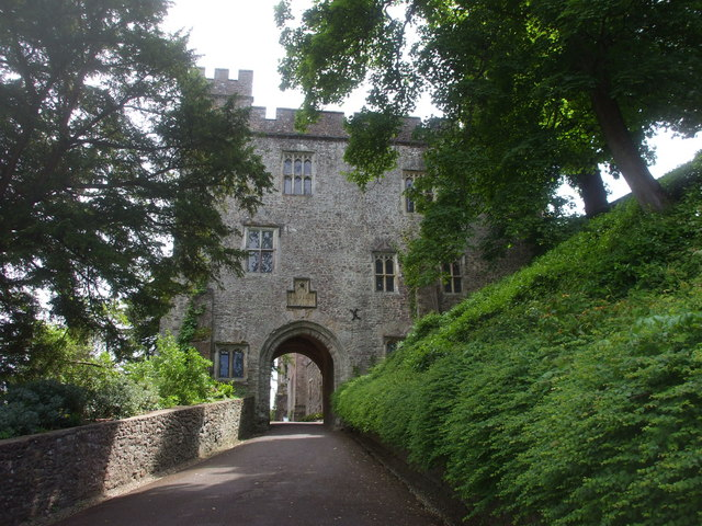 The gatehouse, Dunster Castle