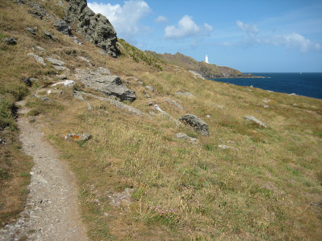 Coast path approaching Start Point