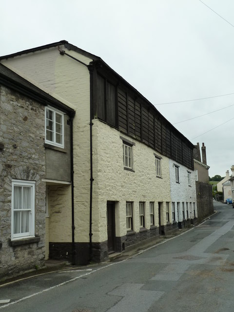 Weavers' houses, Chapel Street, Buckfastleigh