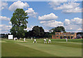 TL4357 : Pembroke College Cricket Ground by John Sutton