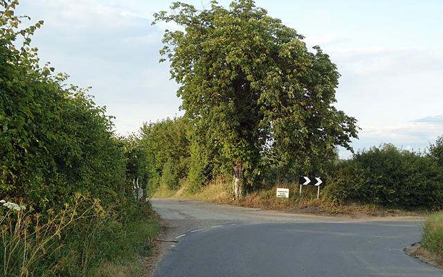 Track to Ferriers, Bures Hamlet