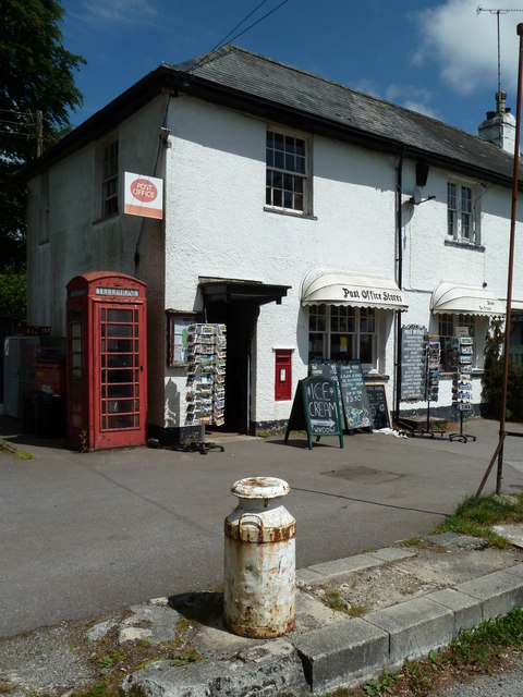 Postbridge Post Office and stores