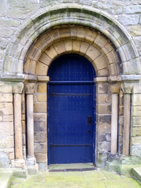 West door, St Mary's Church