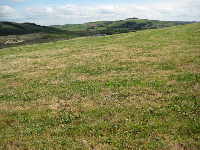 View in land at Bantham