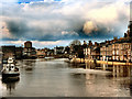 SE6051 : River Ouse in Flood, York by David Dixon