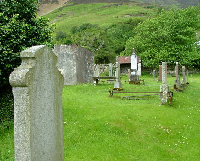 Graveyard at Lochbroom Church of Scotland