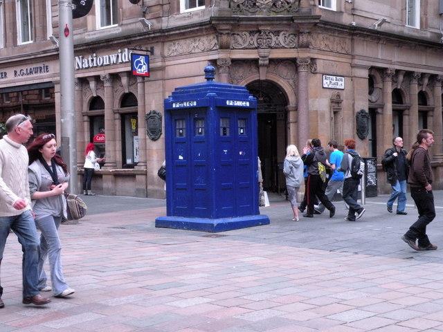 Police Box Buchanan Street Keith Edkins Geograph