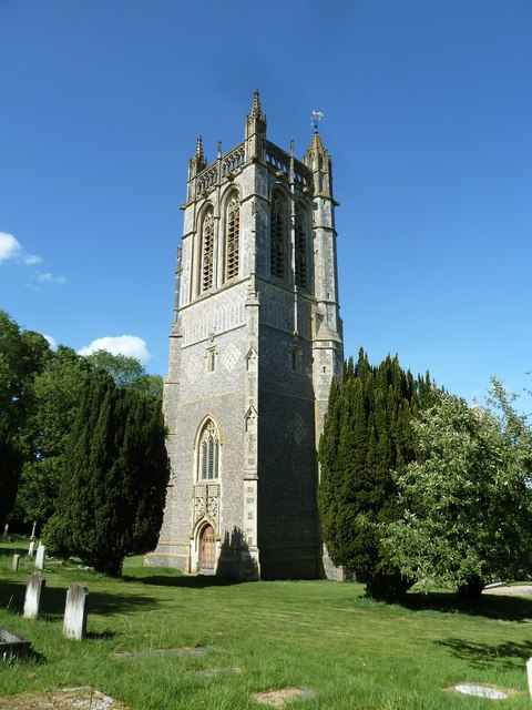 St John the Evangelist, Northington: tower (iii)