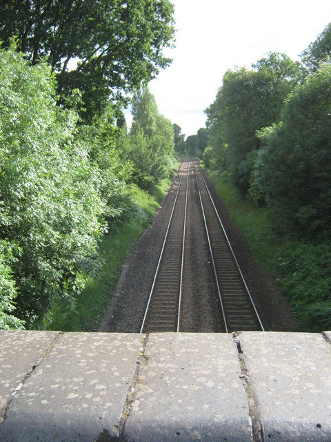 Line south from Stonerwood Avenue