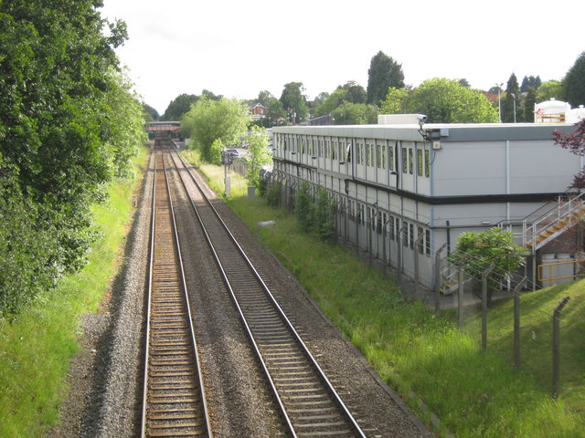 Hall Green railway line