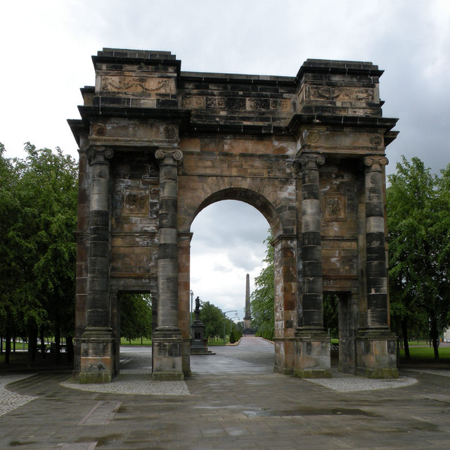 McLennan Arch, Glasgow Green west entrance