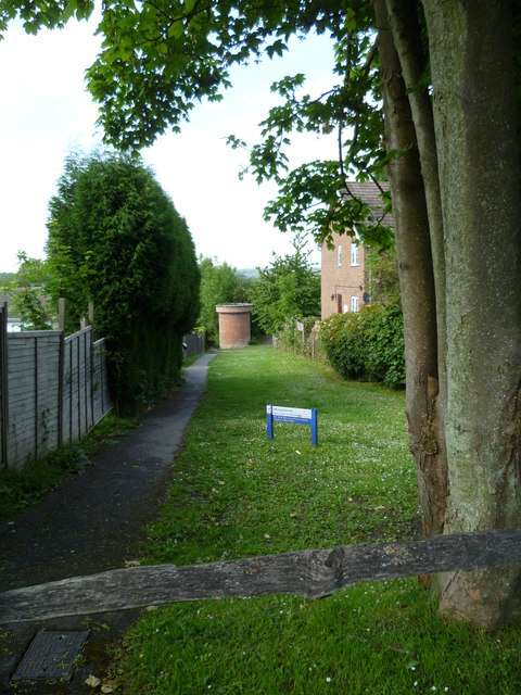 Play area in Sharpthorne