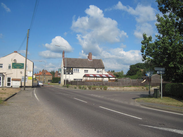 Crown Inn Glentham on A631