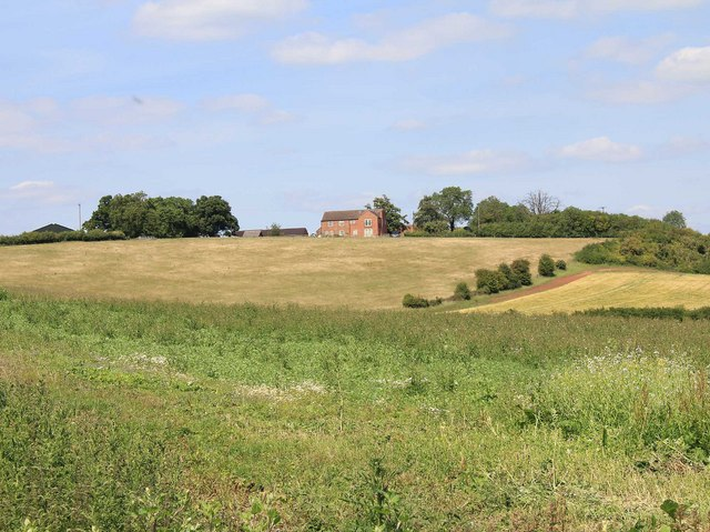 View towards Bunkers Hill Farm