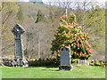 NN5106 : Churchyard, Trossachs Church by Miss Steel