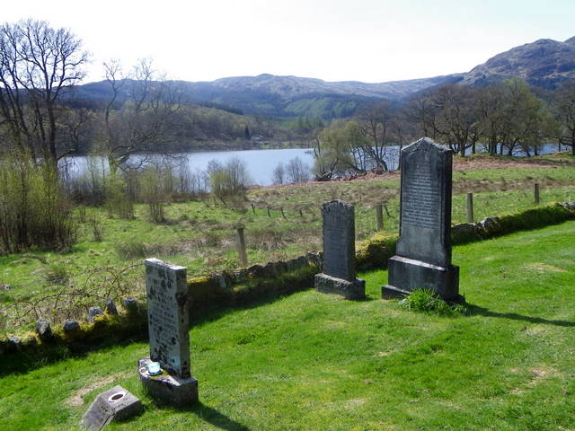 Churchyard, Trossachs Church
