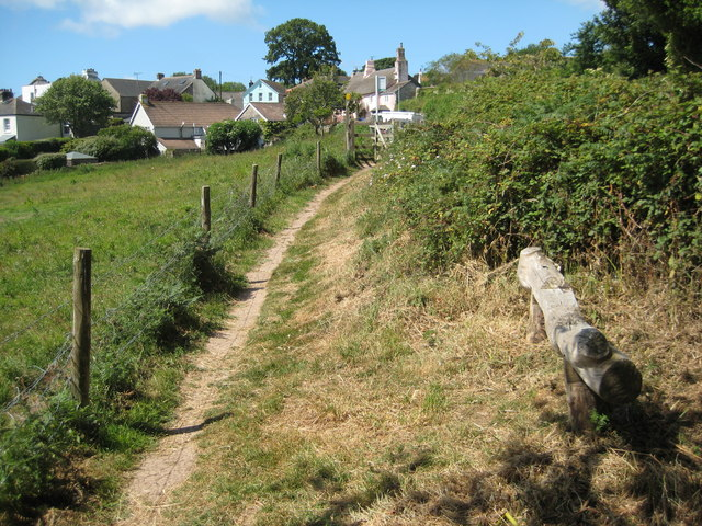 Coast path at Strete